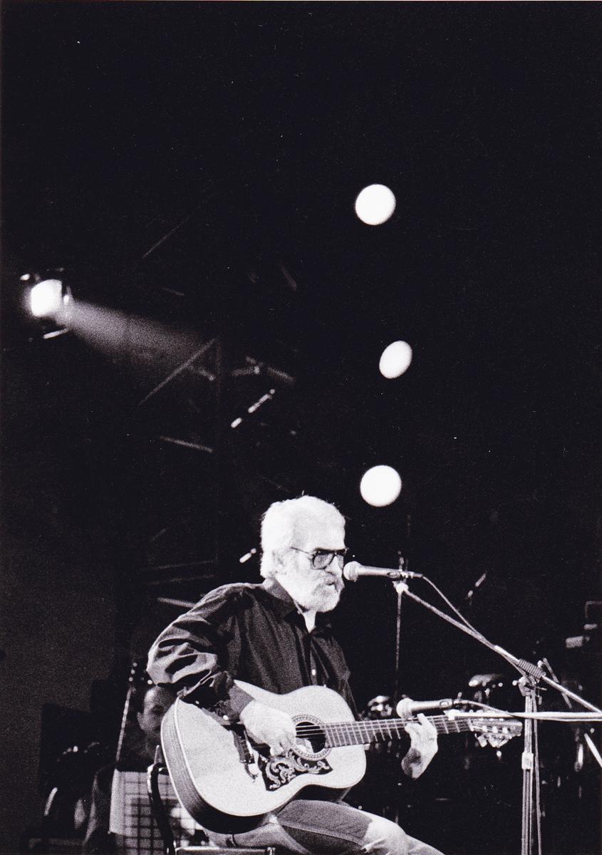 Club Tenco, Sanremo, 1994 (foto Pino Ninfa)