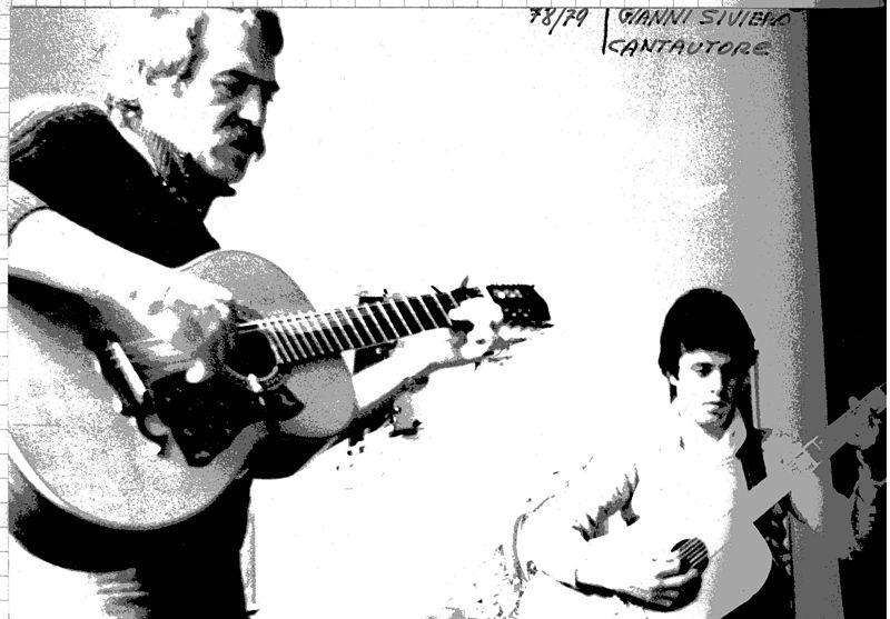 Con Roberto Frizzo, 1978